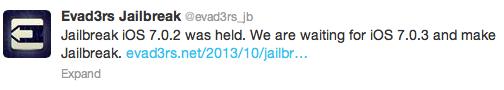 Jailbreak 6.1.3 iOS 7.0.3